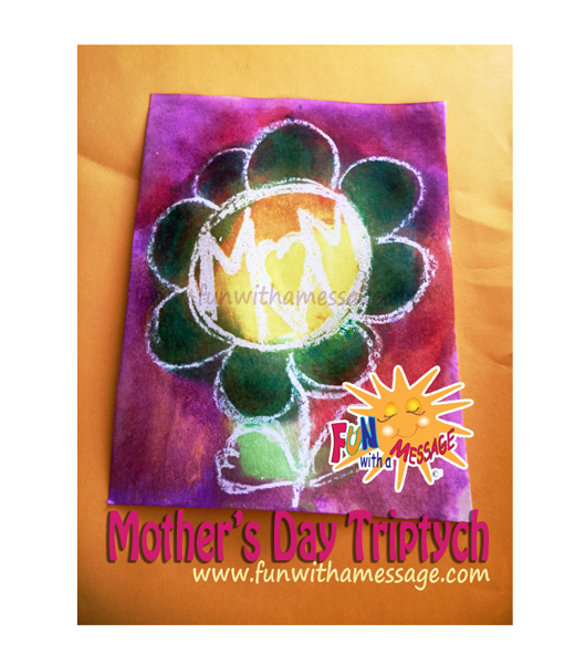 Mother's Day Kids Art Project