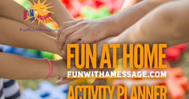 fun at home activity planner