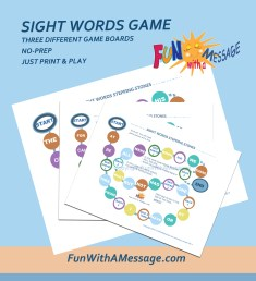 sight words game
