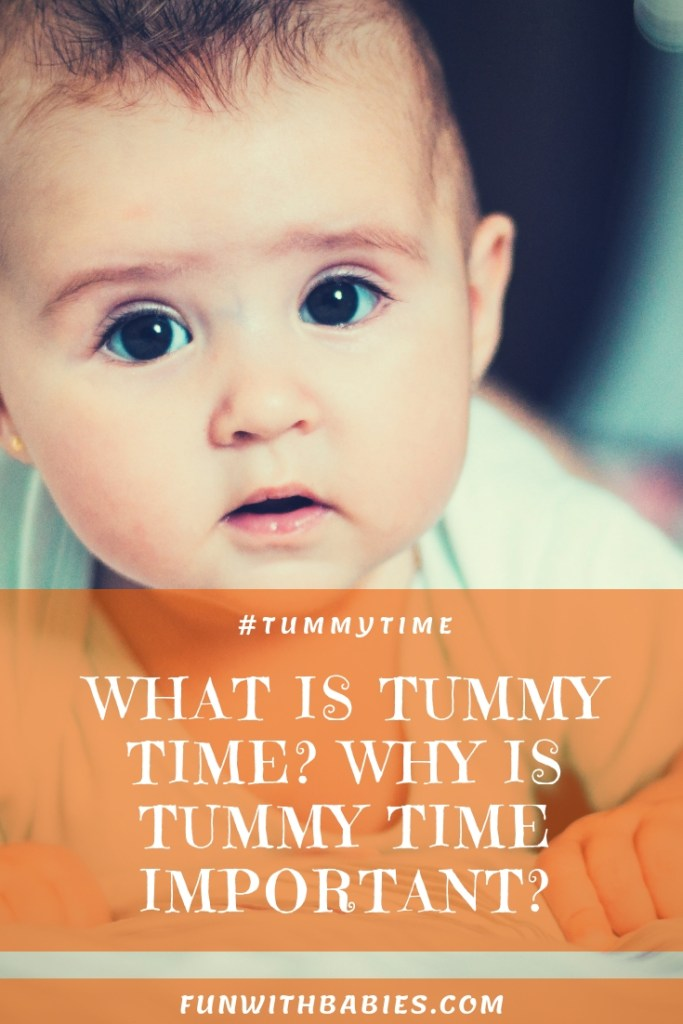 Tummy Time and It's Benefits