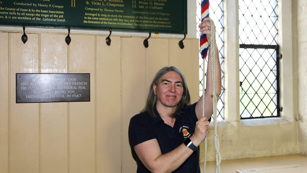 Ringing Remembers project co-ordinator : Vicki Chapman