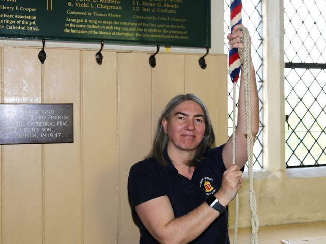 Ringing Remembers project co-ordinator : Vicki Chapman