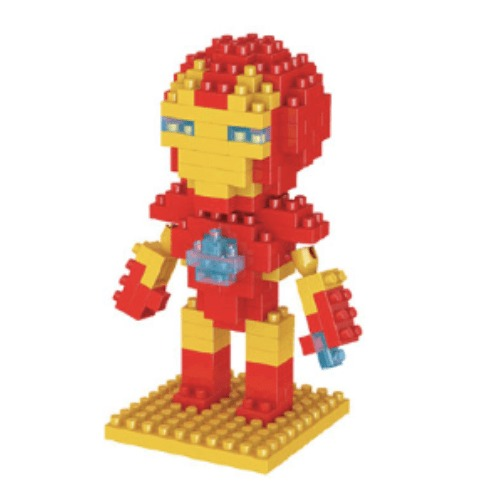 LNO Iron Man miniblock - Marcel Avengers - 140 mini blocks