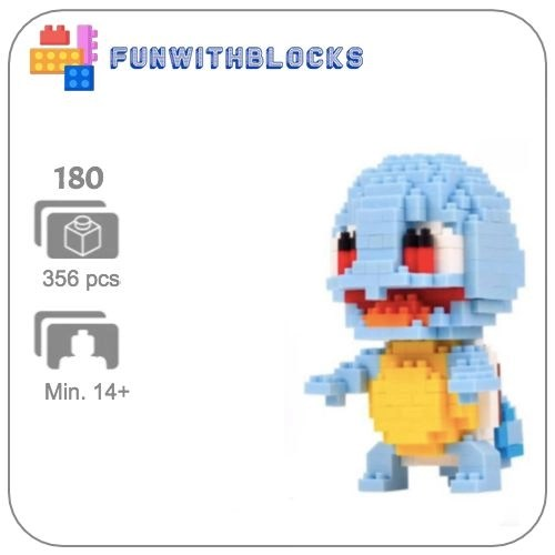 Miniblock Pokémon Squirtle