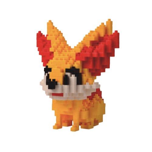 LNO Fennekin miniblock - Pokémon - 390 mini blocks