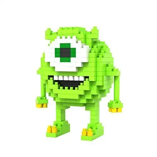 EditorUX Builder Product name LNO Mike miniblock - Monsters Inc. - 190 mini blocks