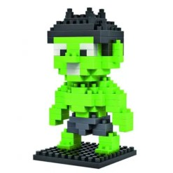 Miniblock Hulk klein - 130 minibricks