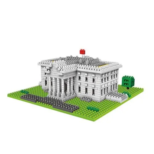 Wise Hawk Het Witte Huis miniblock - 874 mini blocks