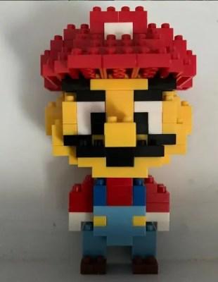 Miniblock Mario gemaakt door blije klant