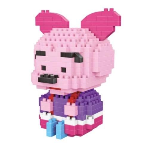 LNO Baby Knorretje miniblock - Winnie de Poeh - 283 mini blocks