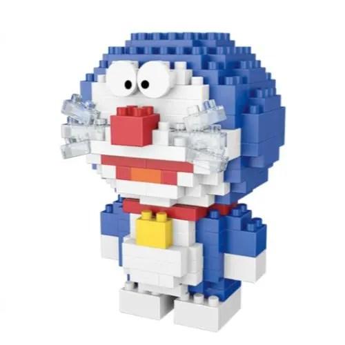 Wise Hawk Doraemon miniblocks - 199 mini blocks