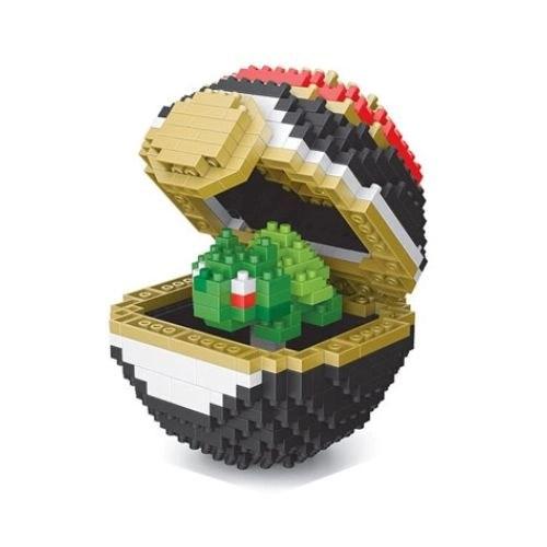 Wise Hawk Pokeball Bulbasaur miniblock - Pokémon - 441 mini blocks