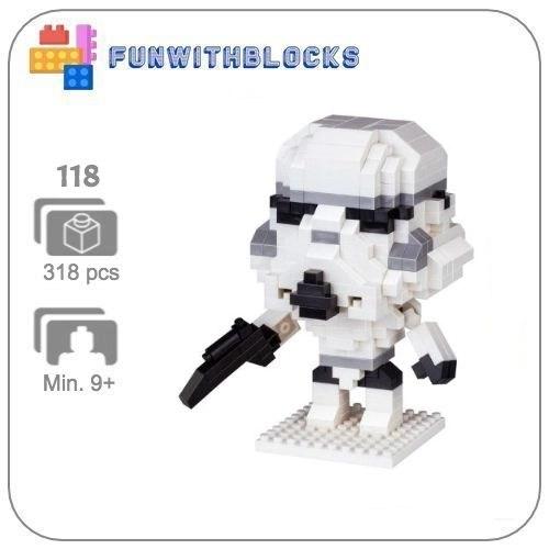 LNO Stormtrooper - 318 minibricks