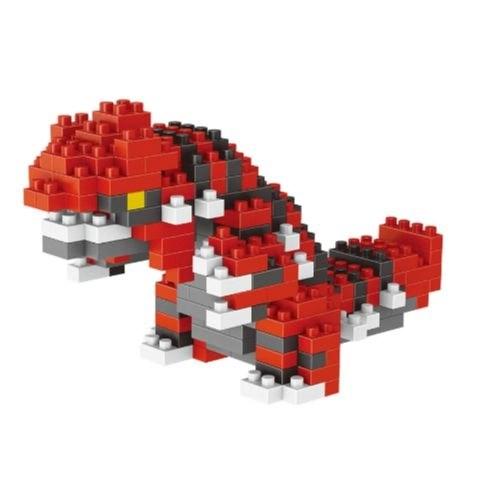 LNO Groudon miniblock - Pokémon - 231 mini blocks