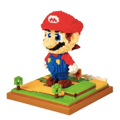 Wise Hawk Mario miniblock - Super Mario - 1701 mini blocks