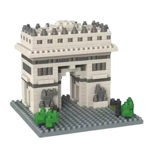 Wise Hawk Arc de Triomphe miniblock - 502 mini blocks