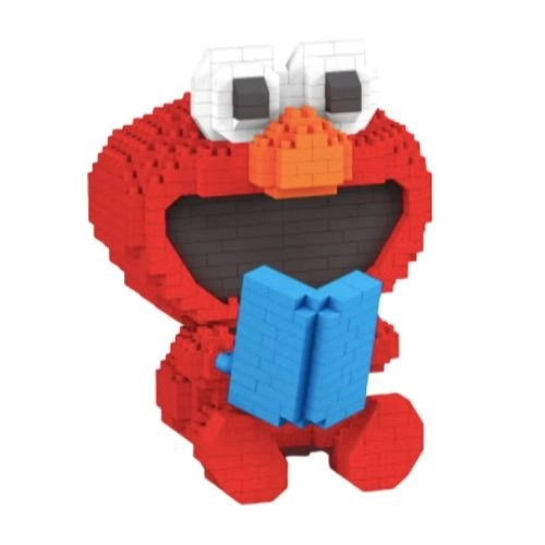LBOYU Baby Elmo miniblock - Sesamstraat - 637 mini blocks