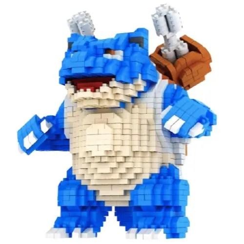 Chakra Mega Blastoise miniblock - Pokémon- 1980 mini blocks