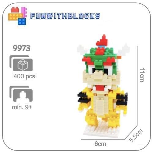 Bowser (klein) - 400 miniblocks