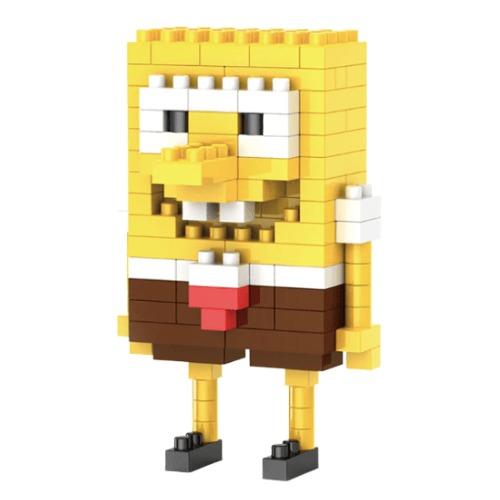 LNO Spongebob SquarePants miniblock - 136 mini blocks
