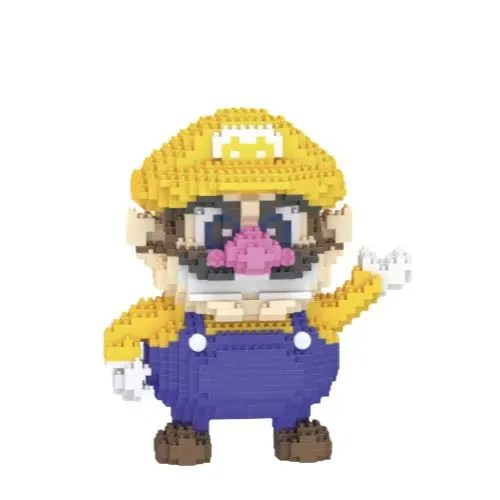 LBOYU Wario miniblock - Super Mario - 1200 mini blocks