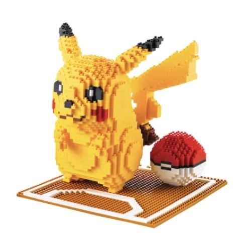 Wise Hawk Mega Pikachu miniblock