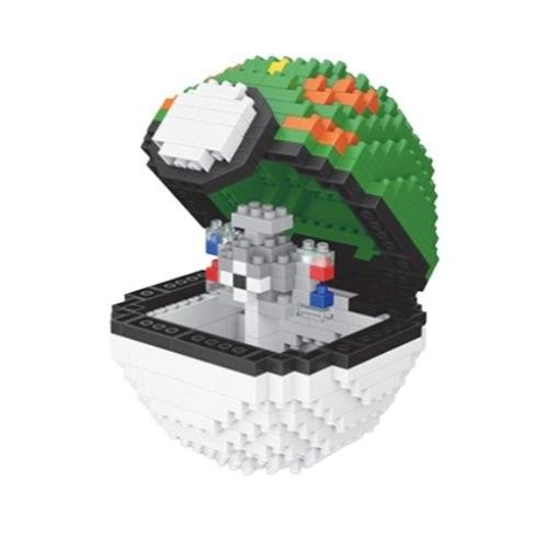 Wise Hawk Pokeball Magnemite miniblock - Pokémon - 427 mini blocks