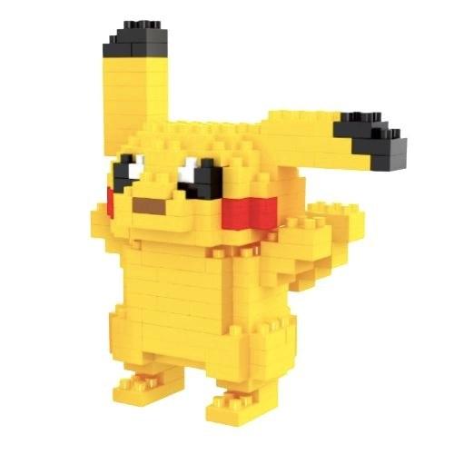 LNO Zwaaiende Pikachu miniblock - Pokémon - 170 mini blocks