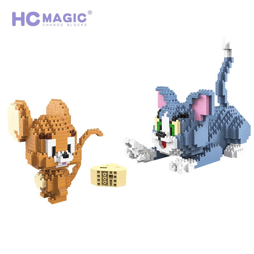HC Magic Tom & Jerry miniblock - 1524 mini blocks