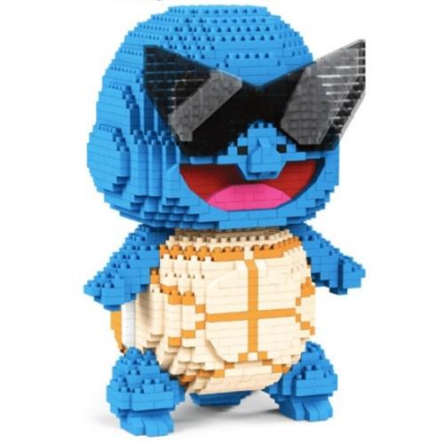 LBOYU Squirtle miniblock - Pokémon - 2100 mini blocks