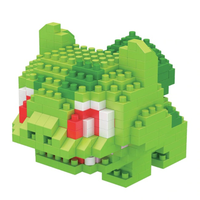 LNO Bulbasaur miniblock - Pokémon - 330 mini blocks