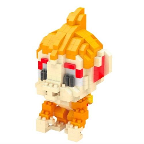 LNO Chimchar miniblock - Pokémon - 377 mini blocks