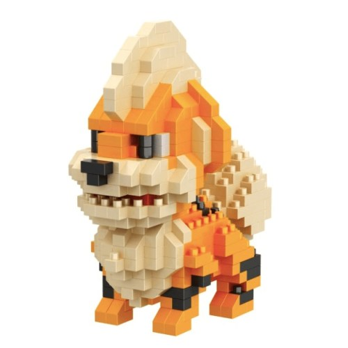LNO Growlithe miniblock - Pokémon - 373 mini blocks