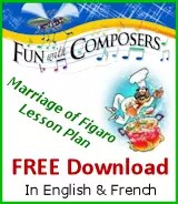 Fun with Composers - Marriage of Figaro Lesson Plan FREE Download