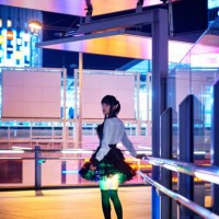 Only in Japan – The LED-Illuminated Upskirt Skirt