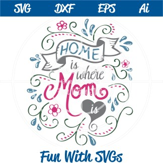 mother's day svg image