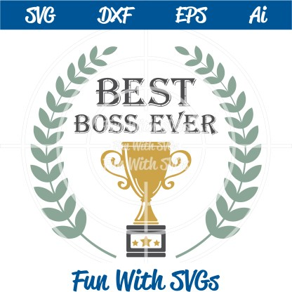 FWS192 Best Boss Ever