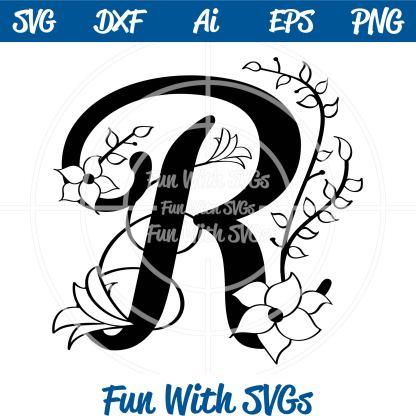 Letter R Monogram Image