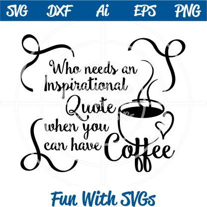 Coffee Humor SVG Image