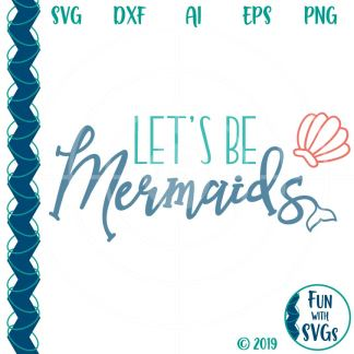 Mermaid SVG Image