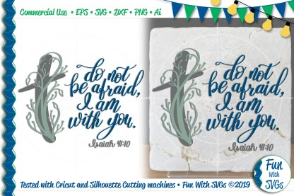 Isaiah 41_10, Do Not Be Afraid Project Image