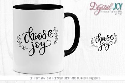 Choose Joy SVG Cut File Project Idea image