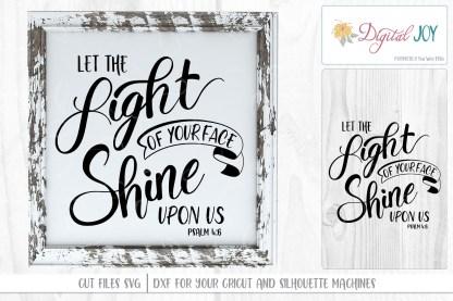 Psalm 4:6 SVG Image by Digital Joy