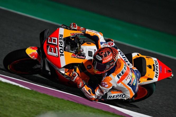 MotoGP: Marquez vola nelle prove libere!