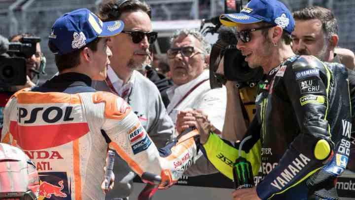Rossi vs Marquez: carriere a confronto.