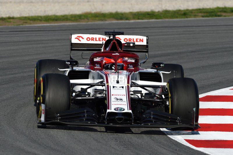 F1 | Test Barcellona Day 1: Kubica in testa.