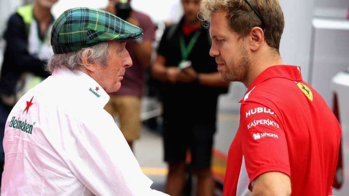 "F1 | Jackie Stewart: ""Vettel dovrebbe ritirarsi."""
