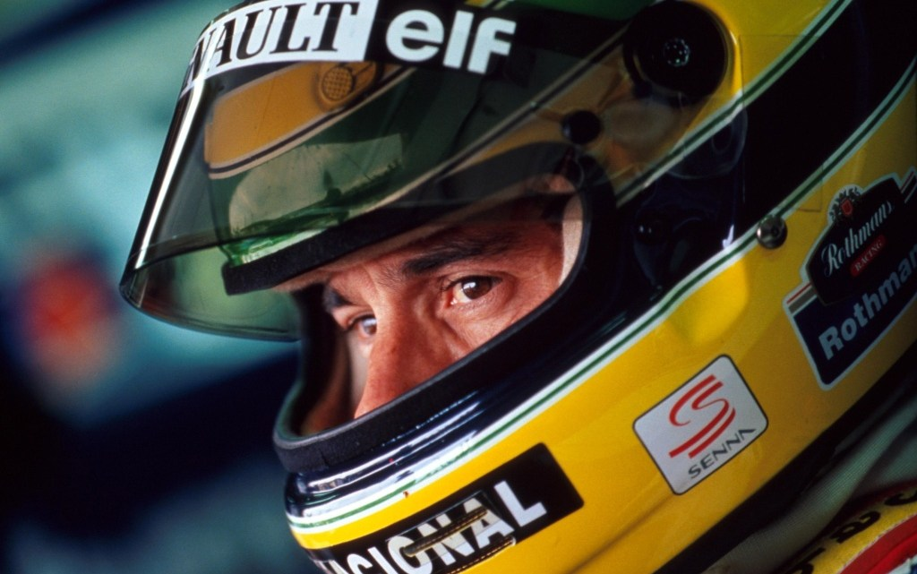 Il vero Ayrton Senna.