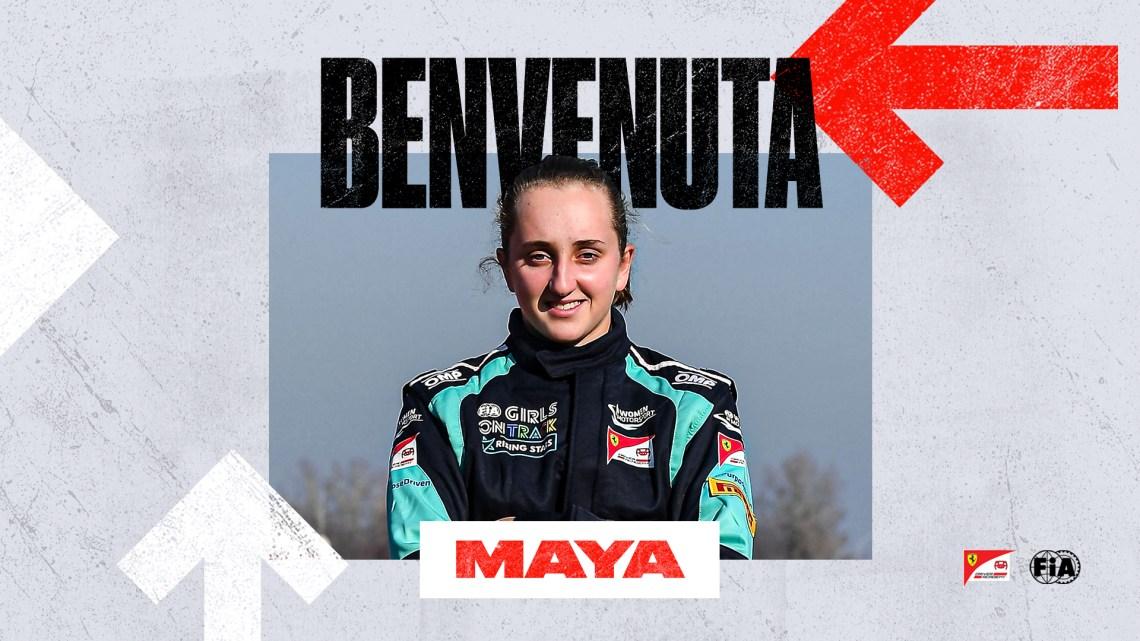 Maya Weug: La prima ragazza della Ferrari Driver Academy