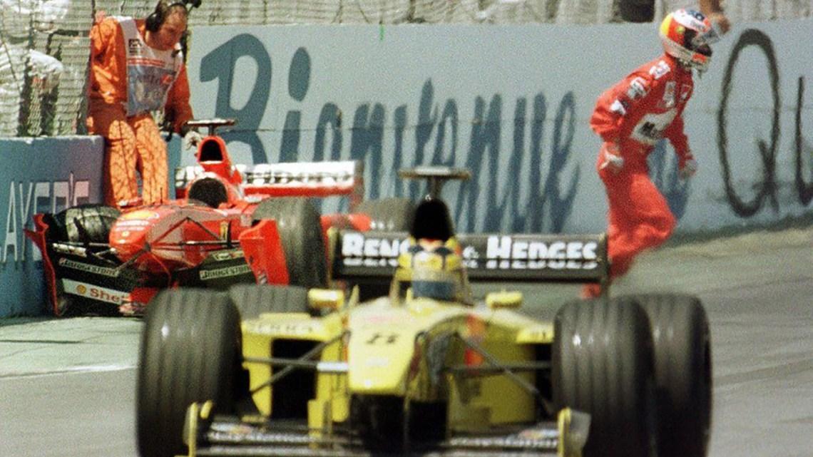 "Quando Schumacher ""rubò"" moglie e talento a Frentzen."
